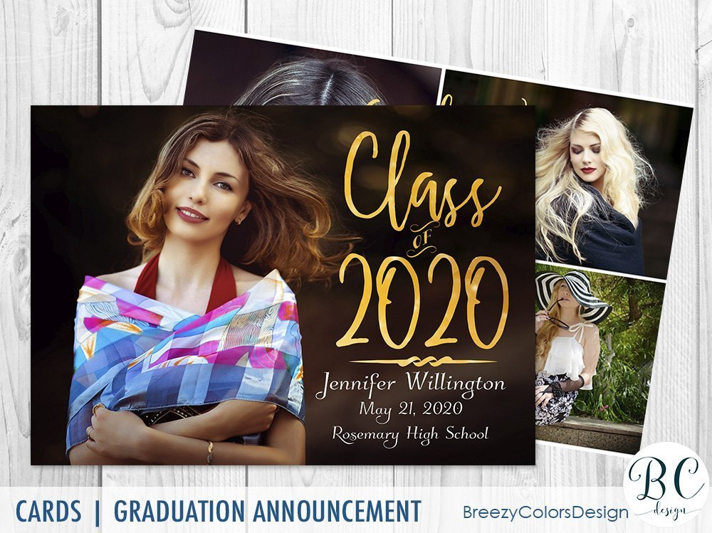 This is a picture of Resource Free Printable Graduation Invitations 2020